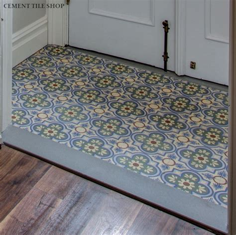 cement tile brooklyn brownstone renovation custom cement tile