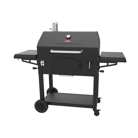 Charcoal Grill Gift Card - shop char griller 32 9 in black powder coat charcoal grill at lowes com