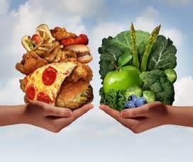 what differentiates healthy food from unhealthy food foodguruz