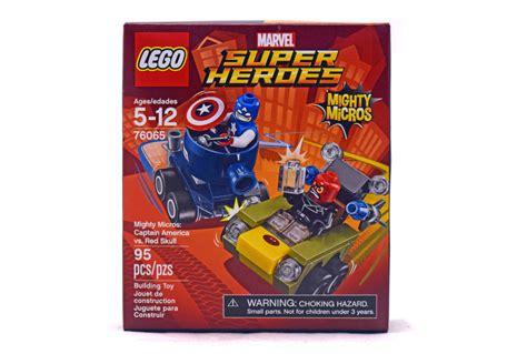 Lego Mighty Micros Captain America Vs Skull 76065 1 mighty micros captain america vs skull lego set 76065 1 nisb building sets gt