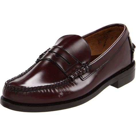 sebago loafers sebago sebago mens classic leather loafer in brown for