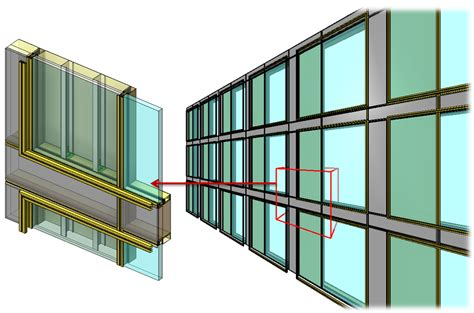 how to create a curtain wall in revit curtain walls and panels from design to highly detailed