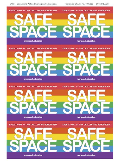 Safe Space Stickers
