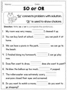 conjunctions l 1 1 g so or but and for because 1st