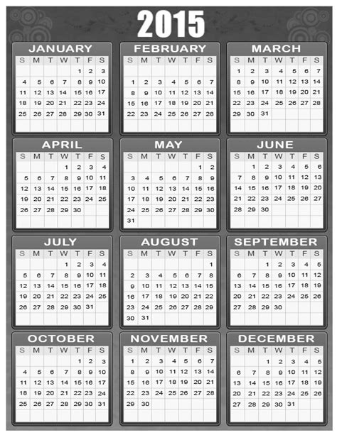 calendar 2015 printable new calendar template site