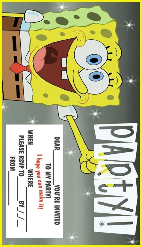12 best images about sponge bob on bobs and printables