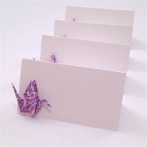 Origami Place Cards - origami crane place cards wedding cards by nikkipoparts
