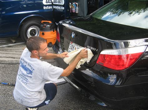Automotive Detailer by Frederick Maryland Hagerstown Md Car Wash Auto Detailing Motorcycle Detailing Boat Detailing