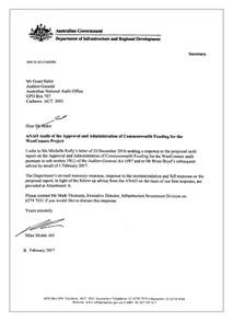 Letter Of Credit Approval Basis The Approval And Administration Of Commonwealth Funding For The Westconnex Project Australian