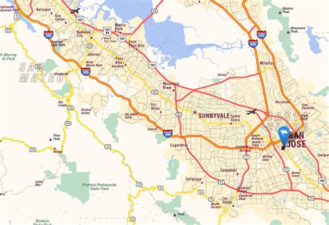 san jose california map usa oxnard ca pictures posters news and on your