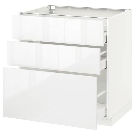 white ikea cabinets binkies and briefcases metod maximera base cabinet with 3 drawers white ringhult