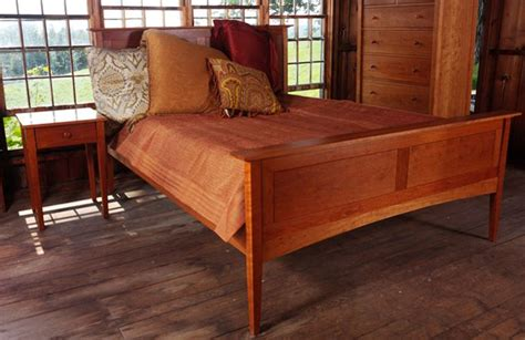 vermont bed board cherry shaker bed home life pinterest