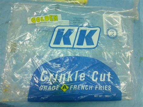 kk crinkle cut fries malaysiafoodinformation