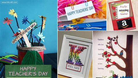 teachers day crafts for 15 awesome teachers day gift ideas with thank you cards