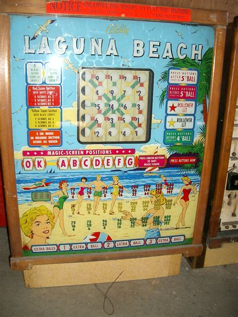 bally bingo pinball reproduction backglass kems