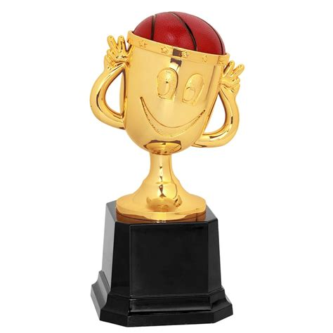 Happy Cup Basketball Trophy