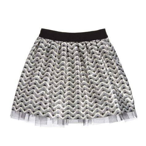 gold pattern skirt silver and gold pattern jacquard skirt miss grant