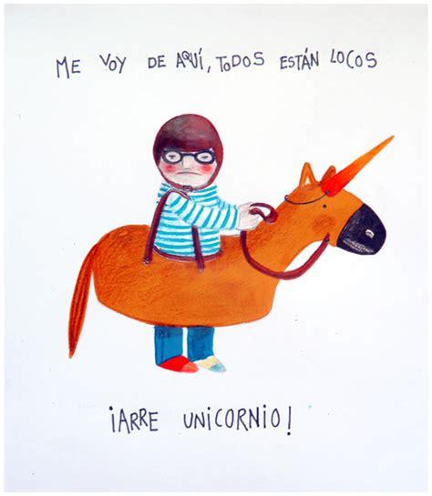 imagenes de unicornios locos ilustraciones personales personal illustrations www