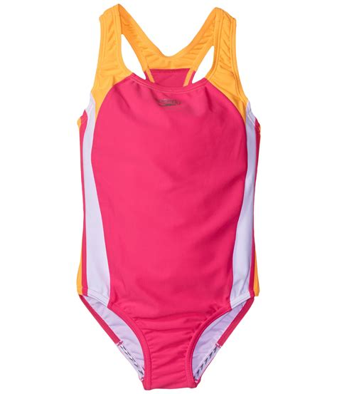 speedo one piece swimsuit kids speedo kids infinity splice one piece swimsuit big kids