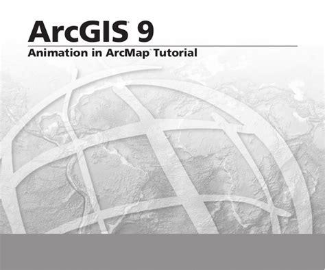 arcgis sde tutorial animation in arc map tutorial