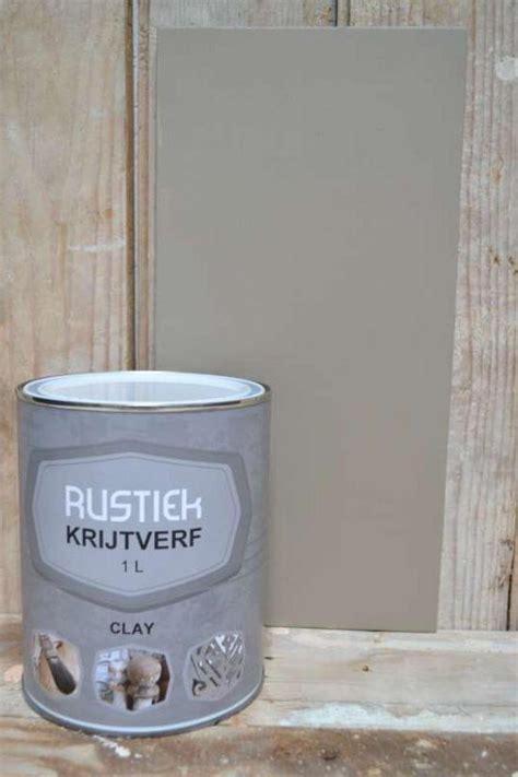 krijtverf 1 liter bol rustiek krijtverf 1 liter kleur clay