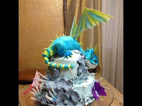 Ice Decorations Dragon Cake Cake Decorating Youtube