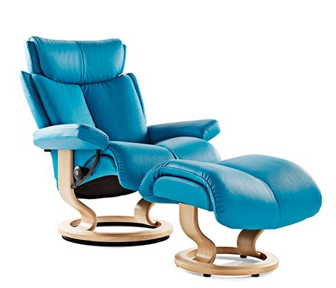 Stressless Blues Recliner by Stressless Magic Swivel Recliners Wharfside Furniture Uk