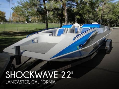 project boats for sale california canceled shockwave 22 deck boat boat in lancaster ca