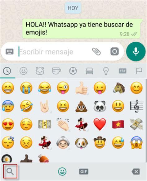 los emojis de whatsapp web por fin en 3d as com c 243 mo usar el buscador de emojis de whatsapp