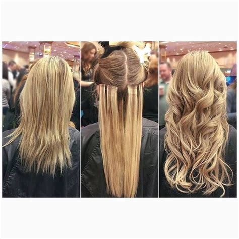 babe hair extensions before during after using tape in babe hair extensions