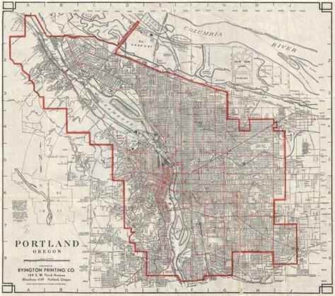 lincoln cemetery portland oregon portland oregon geographicus antique maps