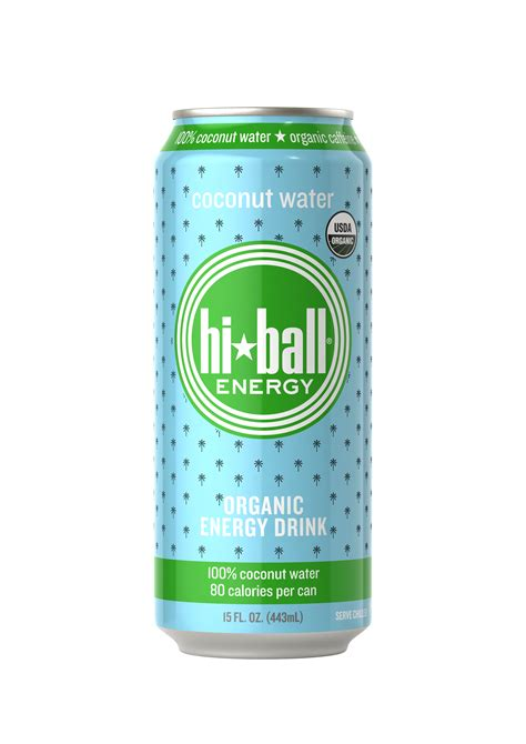 hiball energy water hiball gets into the coconut water biz bevnet