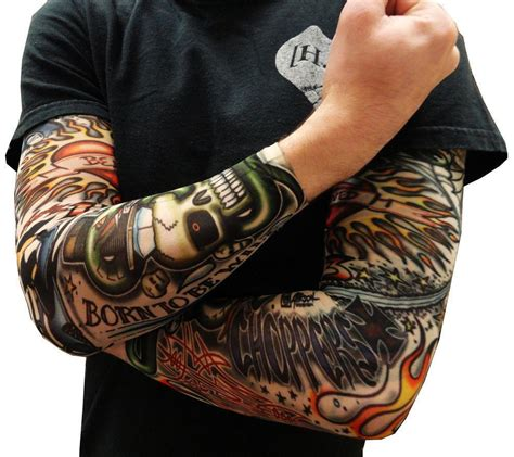 tattoo of the sun chords tattoo sleeve sun uv protection stretch arm cover cycling
