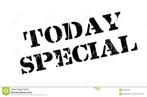 today s special today special rubber st stock vector image of extra
