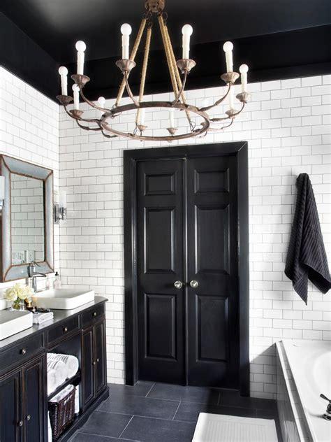 bathroom decor all white bathroom makeover style at home timeless black and white master bathroom makeover hgtv
