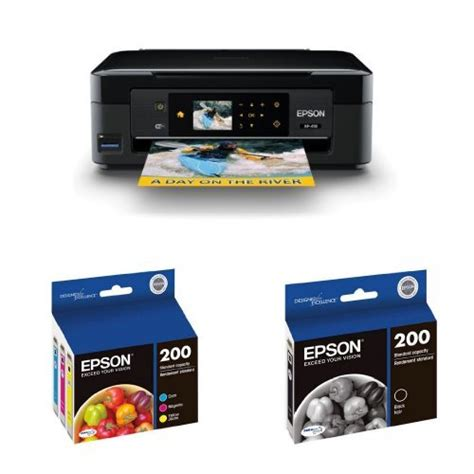 Printer Epson Expression Home Xp 410 epson expression home xp 410 wireless inkjet printer and ink bundle in the uae see prices