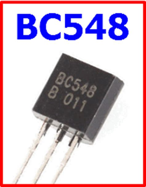 bc548 transistor pin description bc548 datasheet vcbo 30v npn transistor fairchild