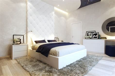 modern bedroom wall small bedrooms use space in a big way