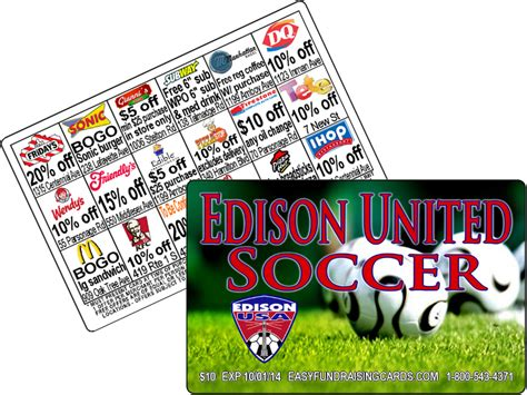 Gift Card Fundraising - fundraising cards are the best fundraiser for soccer clubs easy fundraising cards