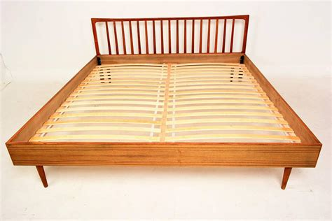 teak headboard king danish modern king teak bed frame and headboard at 1stdibs