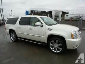 2012 Cadillac Escalades For Sale 2012 Cadillac Escalade Esv Luxury Auburn Ny For Sale In