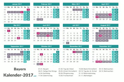 Kalender 2018 Ferien Und Feiertage Bayern Ferien Bayern 2017 Ferienkalender 220 Bersicht
