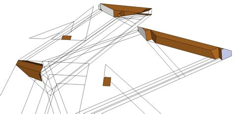 3 Sided Hip Roof Roof Framing Geometry The Single Sided Hip Sprocket