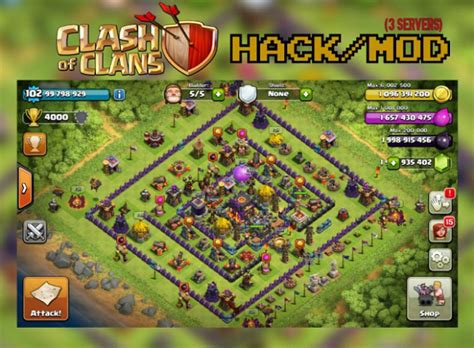 download game coc mod v7 65 5 clash of clans unlimited mod hack v7 65 apks free download