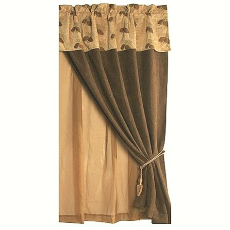 pine cone curtains object moved