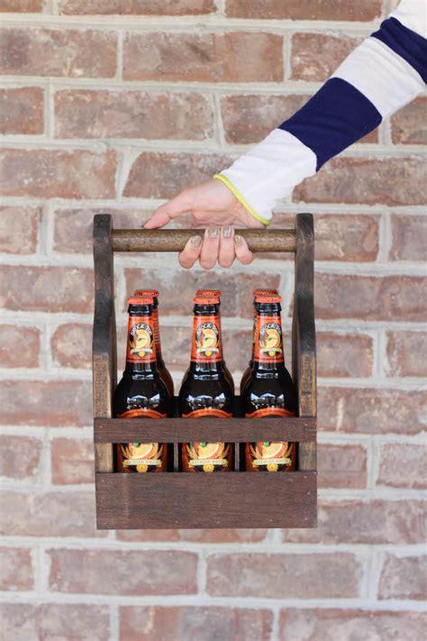 byob build  wooden beverage carrier