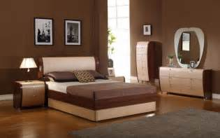 Furniture Sets Bedroom Modrest Modern Lacquer Bedroom Set