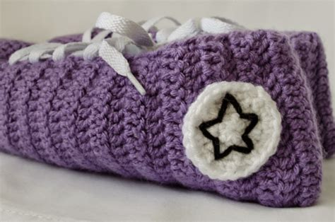 pattern crochet converse slippers crochet converse slippers pattern bing images