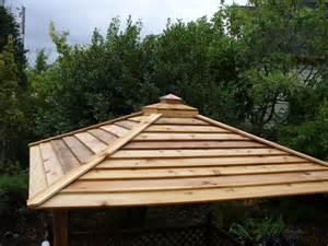 Gazebo Roof Materials gazebo roof