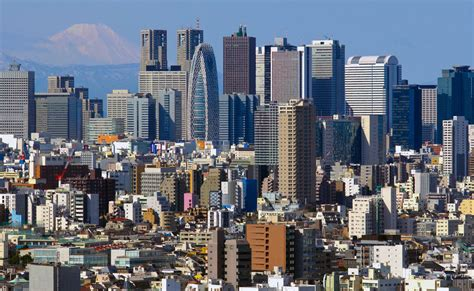japanese town image gallery tokyo city